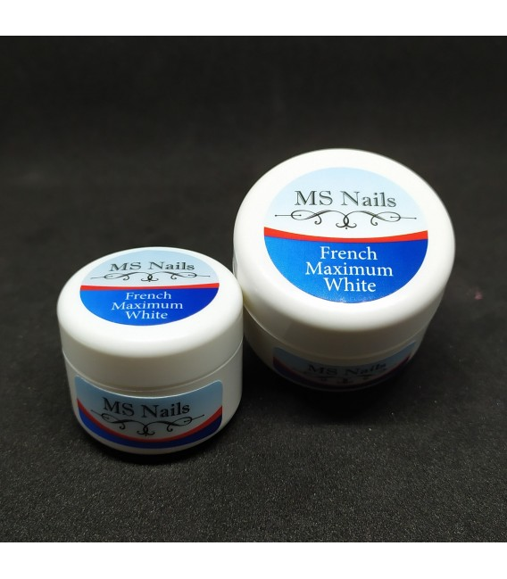 French Gel Maximum white 15 ml